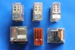 RFRA152 LOT DE 3 RELAIS COMPOSANT ELECTRONIQUE - Components