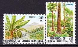 Equatorial Guinea -  Guinea Ecuatorial - Guinée Équatoriale 1983 Edifil 47- 48, Indigenous Flora - MNH - Guinée Equatoriale