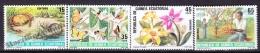 Equatorial Guinea -  Guinea Ecuatorial - Guinée Équatoriale 1985 Edifil  73- 76, Nature Protection - MNH - Equatorial Guinea