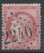 Lot N°34944   Variété/n°57, Oblit GC 2240 MARSEILLE (12), C Relié Au P De POSTES