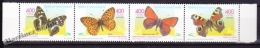 Equatorial Guinea - Guinée Équatoriale 2000 Edifil 267- 270, Butterflies - MNH - Guinea Ecuatorial