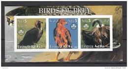 Eritrea 2002,3V In Blok.IMP,birds,vogels,vögel,oiseaux,pajaros,uccelli,aves,MNH/Postfris(L3002) - Unclassified