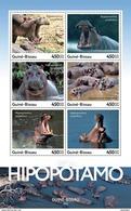GUINEA BISSAU 2016 - Hippopotamus. Official Issue