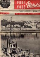 La Vie Des Métiers Magazine De L'homme Moderne-N°196-Chalutier J.Thézac-Pris Sur Le Vif-Bretagne-Gastronomie Bretonne-R8 - Journaux - Quotidiens