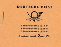 Carnet De Timbres Complet Deutsche Post - DDR