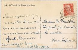 CORMEILLES Eure Sur 12F GANDON. - Poststempel (Briefe)