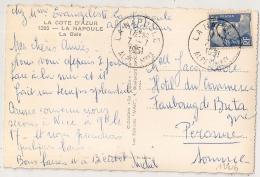 LA NAPOULE Alpes Maritimes Sur 12f GANDON. - Poststempel (Briefe)