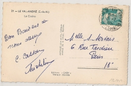 PLENEUF VAL ANDRE Cotes Du Nord  Sur 8f GANDON. - Poststempel (Briefe)