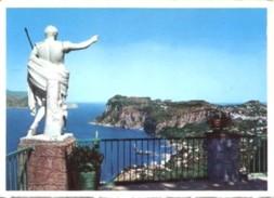Napoli - Lotto 3 Fotografie, CAPRI: VISTA DA ANACAPRI, VILLA SAN MICHELE, ARCO NATURALE - PERFETTA N37 - Riproduzioni