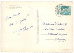 TOUET S VAR Alpes Maritimes Sur 8f Gandon . 1950. - Poststempel (Briefe)