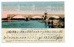 Avignon - Le Pont Saint Bénézet (avec Musique) (1927) Edition Alpin - Avignon