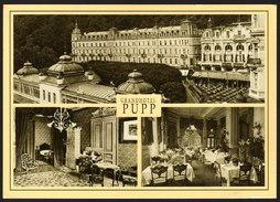 Karlsbad - Grandhotel PUPP Anno 1900 Luxushotel Tschechische Republik - Gelaufen - Hotels & Gaststätten
