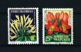Africa Ecuatorial Francesa  Nº Yvert  243/4  En Nuevo