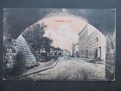 AK GMÜND BÖHMZEIL Strasse 1918   /// D*22381 - Gmünd