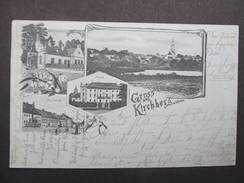 AK KIRCHBERG Am Walde B. Gmünd Litho 1900  /// D*22385 - Gmünd