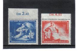 DDR138  DDR 1950  Michl  273/74  ** Postfrisch SIEHE ABBILDUNG