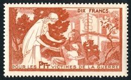France - Vignette Bienfaisance PTT 'Victimes De La Guerre' N°59 **  ..Réf.FRA28869 - Erinnophilie