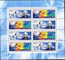 Russia, 2009, The 175th Anniv. Of Hydrometeorologic Service, MNH