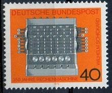 PIA - GERMANIA - 1973 : Progresso Della Tecnica - Prima Macchina Calcolatrice Costruita Nel 1600 -  (Yv 627) - Unused Stamps