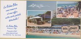 "06 Juan-les-Pins  - Cpsm / Restaurant ""Le Ruban Bleu"". - Antibes"