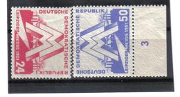 DDR143  DDR 1951  Michl  282/83 ** Postfrisch SIEHE ABBILDUNG