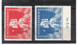 DDR144  DDR 1951  Michl  284/85 ** Postfrisch SIEHE ABBILDUNG