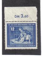 DDR148  DDR 1951  Michl  295 ** Postfrisch SIEHE ABBILDUNG