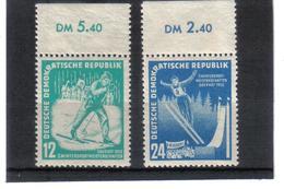 DDR149  DDR 1952  Michl  298/99 ** Postfrisch SIEHE ABBILDUNG