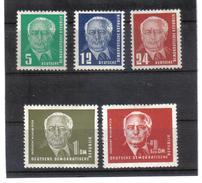 DDR159  DDR 1952  Michl  322/26 ** Postfrisch SIEHE ABBILDUNG