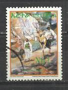 ERITREA 2004 - PAINTING - HIGHLAND WOMAN AND CHILD - POSTALLY USED OBLITERE GESTEMPELT USADO - Erythrée