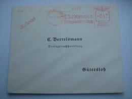 Firmen Freistempel , Meterstempel Auf Beleg Aus   1941 , Gütersloh - Deutschland