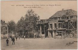 BETHUNE (62) - RUINE DE LA PLACE SAINT ELOI RUE EUGENE HEYNAUT - Bethune
