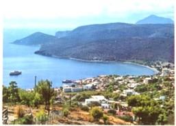 Grecia - Lotto 2 Fotografie, EGINA: SANTA MARINA VISTA GENERALE, VISTA PARZIALE DELLA CITTÀ E DEL PORTO - PERFETTA N37 - Riproduzioni