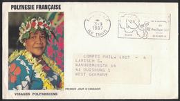 AZ216      Polynesie Francaise Tahiti Papette 1987