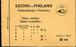 18619 Finland,  Booklet Of Stamps