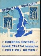 18621 Finland,special Card  1947 Finlands Festspel, Festival Games, Helsinki  Suomen  Suurkisat - Finland