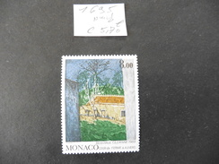 Monaco :  Timbre Neuf  N°1695
