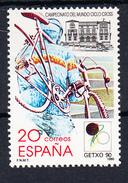 ESPAÑA 1990, EDIFIL Nº 3048 CAMPEONATO MUNDO CICLOCROSS.GETXO '90.NUEVOS SIN CHARNELA.  SES473GRANDE
