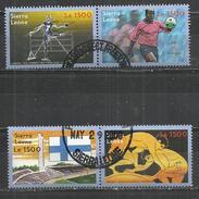 SIERRA LEONE 2000 - OLYMPIC GAMES - CPL. SET - USED OBLITERE GESTEMPELT USADO