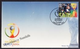 Perou - Peru 2004 FDC Yvert 1389 - FIFA World Cup Korea Japan - MNH - Perú