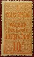 France Rare Colis Postal N° 6 N* TTB ! Cote 2017 : 35,00 € ! A Voir Absolument !!