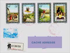 ARGELIA 2009 Registered Letter LR Tales And Legends  Hedge Of Cactus Kaktus Seto De Cactus Cuentos Y Leyendas