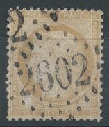 Lot N°34973   Variété/n°59, Oblit GC 2602 NANTES (42), Tache Blanche Embriquement SUD OUEST