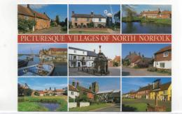 Postcard - Picturesque Villages Of North Norfolk 9 Views New - Postcards