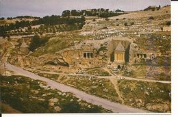 PALESTINE - ISRAEL - JÉRUSALEM - Vally Kidron A Bshalom Tomb -- - Cartes Postales