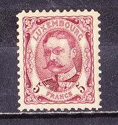 Lussemburgo 1906 -5 Fr. Bruno-lilla-Nuovo MLH