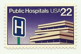 1986 - Stati Uniti 1627 Ospedali Pubblici
