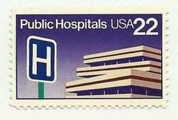 1986 - Stati Uniti 1627 Ospedali Pubblici, - Salute