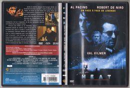 CINEMA - POLICIER - DVD - HEAT DE  MICHAEL MANN - AL PACINO / ROBERT DE NIRO / VAL KILMER / JOHN VOIGHT - Policiers