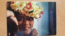 MOOREA CHINOISE DANS LE LAGON Carte Postale Neuve Années 70 Très Bon état Dos Partagé - Polynésie Française